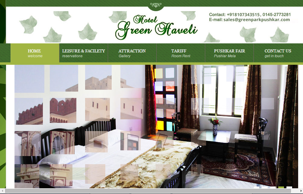 Green Haveli Puskhar
